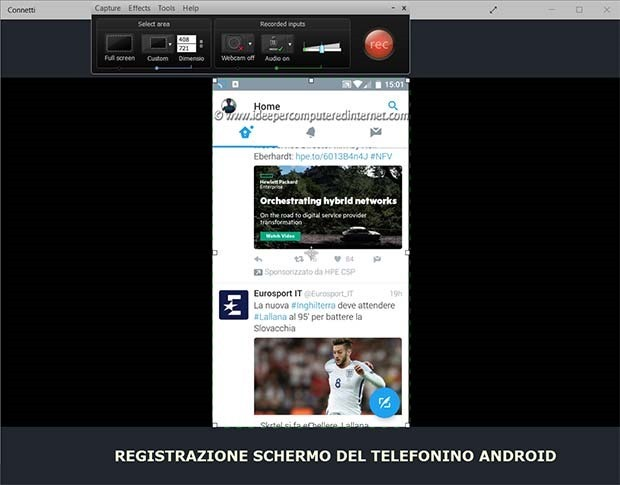 registrazione-schermo-telefonino