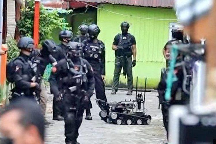 Polri: Empat Tersangka Bom Makassar Pernah Ikut Baiat FPI