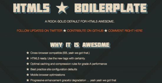 BoilerPlate HTML5