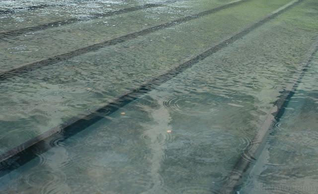 water, raindrops, Hirshhorn, WashingtonDC, Hurricane Irene, fountain, rain