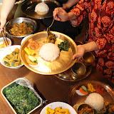 ネパール料理教室デモ