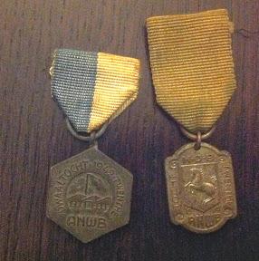 ANWB wandeltochten 1942 en 1941