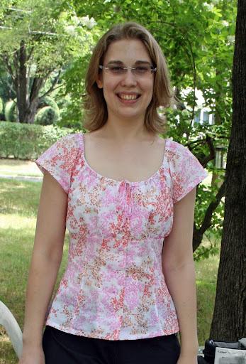 Neue Mode 22671: Peasant blouse (cotton lawn)