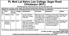 Pt Motilal Nehru Law College Chhatarpur