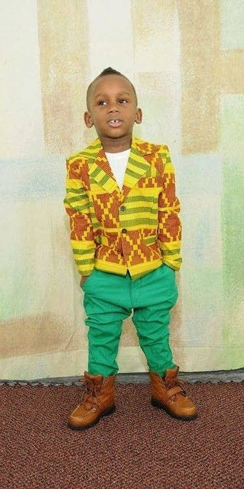 ankara clothing for children  (1)