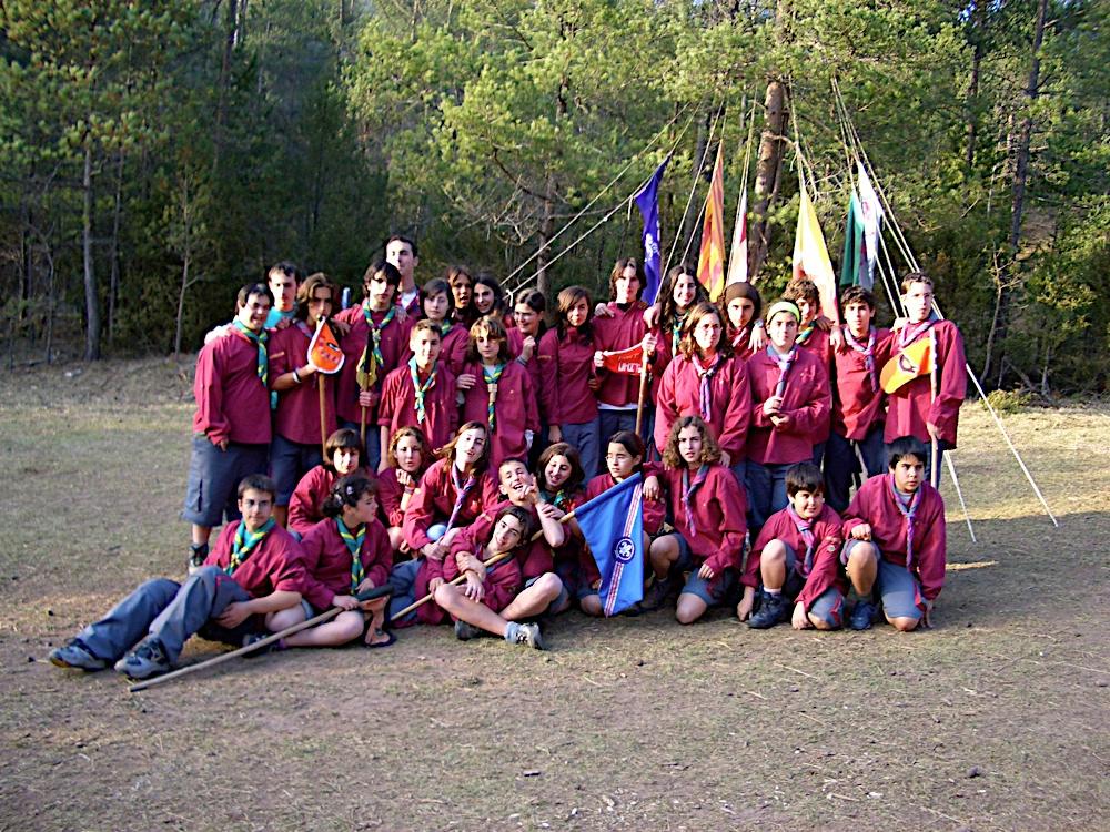 Campaments amb Lola Anglada 2005 - CIMG0263.JPG