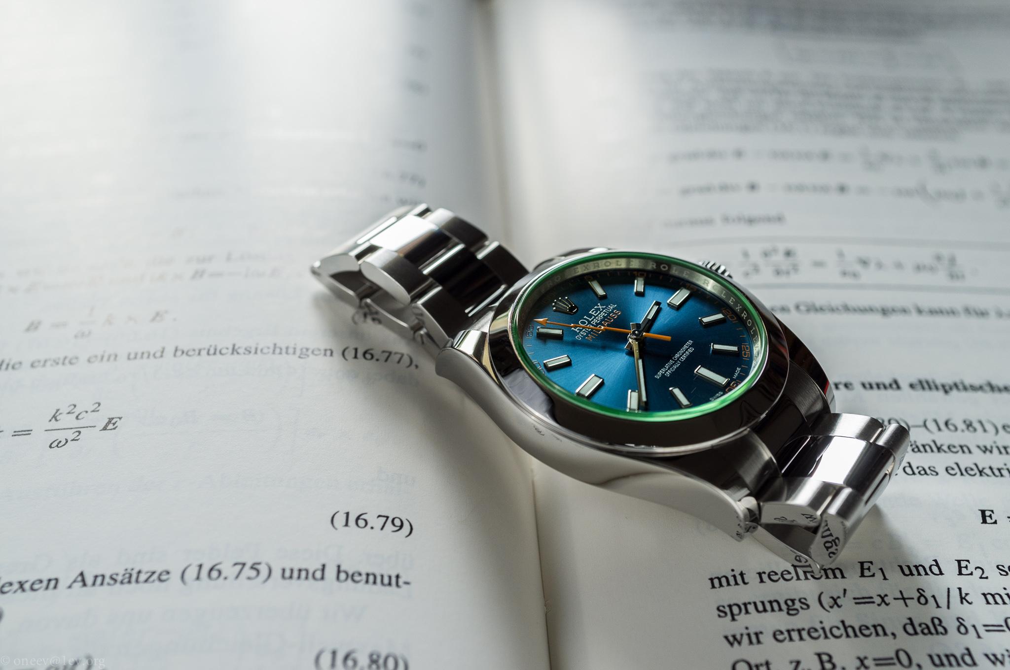 Revue illustrée de la Rolex Milgauss Z-Blue 20150523-DSCF6769