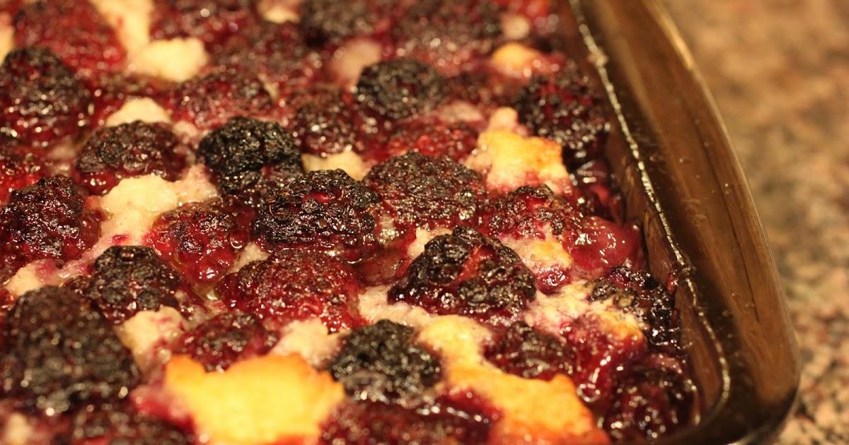 Traditional blackberry cobbler recipe