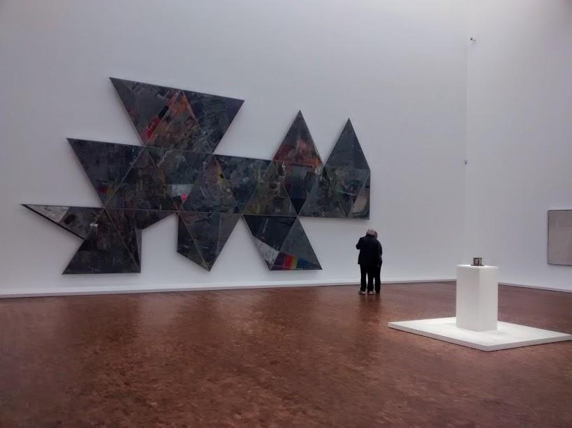"""Jasper Johns 1967 painting """"Map (Based on Buckminster Fuller's ..."""