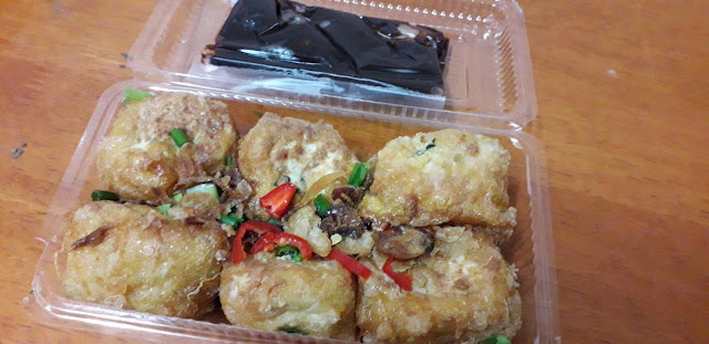 Tauhu Begedil & Sandwich Blogger CikZa