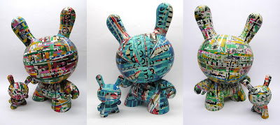 "[O8STACLES] Custom Toy Series by Ryan the Wheelbarrow - 8""/3"" Dunny Set"