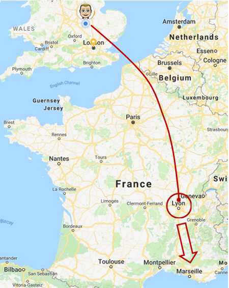 Birthday Trip to France 2018