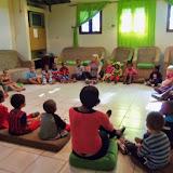 Förskolan får besök, juni 2014