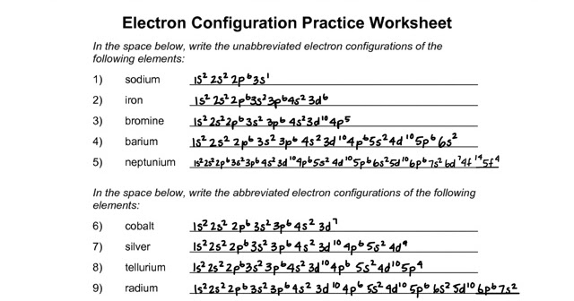 Cassi Chemistry 3rd: Electron configuration