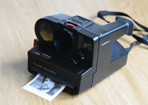 Polaroid Camera Upgraded With Thermal Printer And Raspberry Pi via Geeky Gadgets
