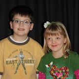 2009 Clubhouse Christmas Decorating Party - Grandkids2.JPG