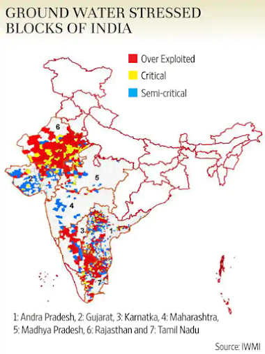Groundwater crisis in India