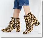 Oasis Leopard Print Ankle Boot