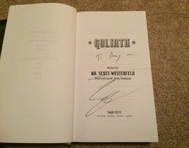 Goliath signed