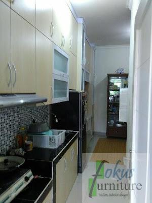 Kitchen set &meja tv full plafon