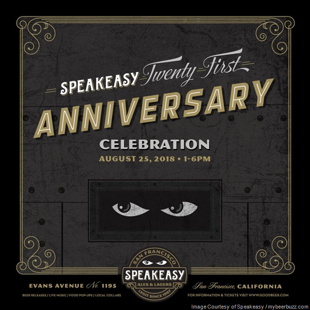 "Speakeasy Ales & Lagers Releasing ""Gilded Ale"" and ""Syndicate Series No. 04"""