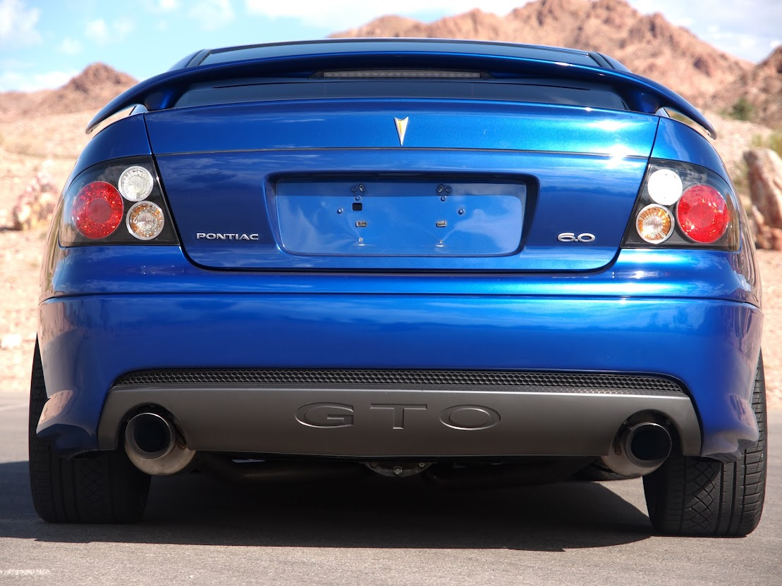 Putting a 6.0 GTO Bumper on a 5.7? - Pontiac GTO Forum
