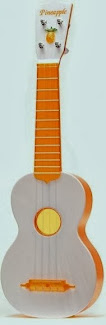 Sekiguchi Kazuyuki pineapple orange soprano at Lardys Ukulele Database