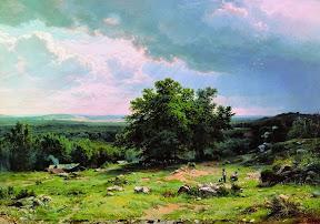 Вид в окрестностях Дюссельдорфа.1865 год.jpg