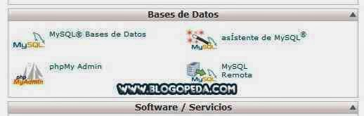 copia de seguridad de una base de datos