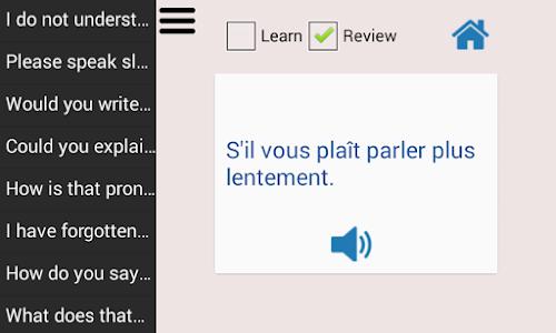 Learn French Language screenshot 6