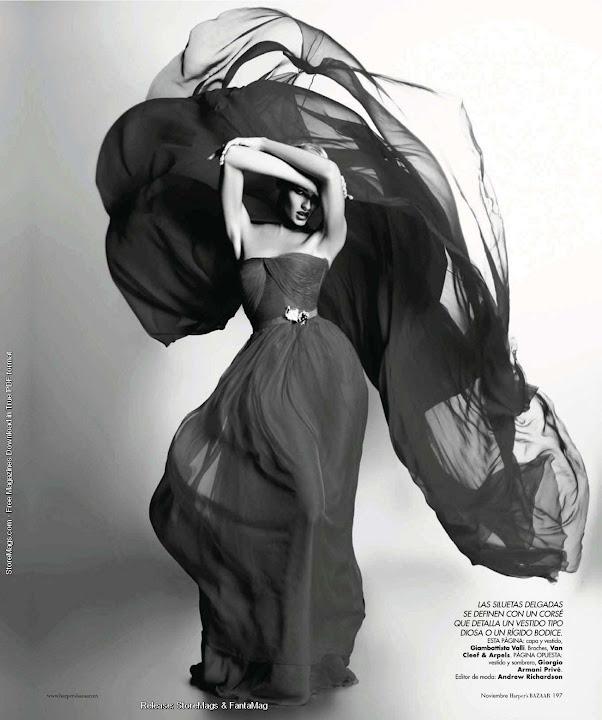Harper's Bazaar México - Couture Couture - Candice Swanepoel