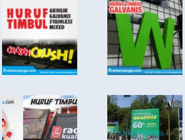 Jasa Pemasangan Pembuatan Huruf Timbul di Pulau Jawa Untuk Kebutuhan Periklanan