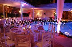 Fotos de decoração de casamento de Casamento Magda e Therson na Villa Cabral da decoradora e cerimonialista de casamento Liliane Cariello que atua no Rio de Janeiro e Niterói, RJ.
