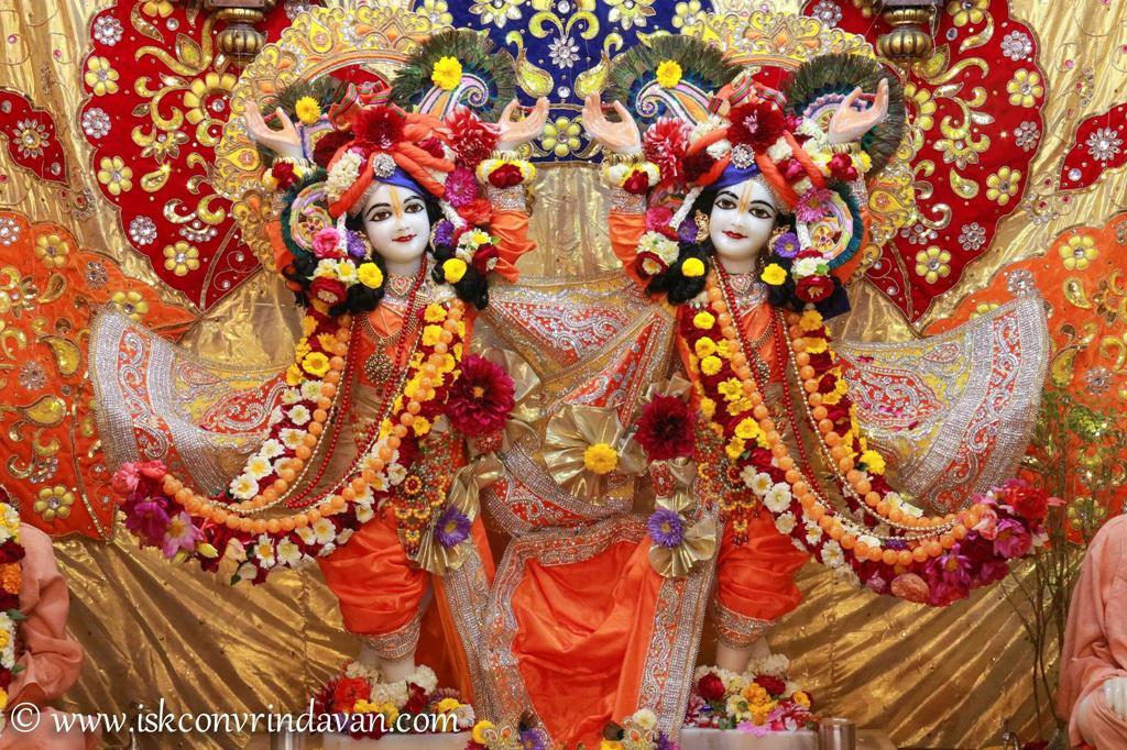 ISKCON Vrindavan Sringar Deity Darshan 12 Mar 2016 (6)