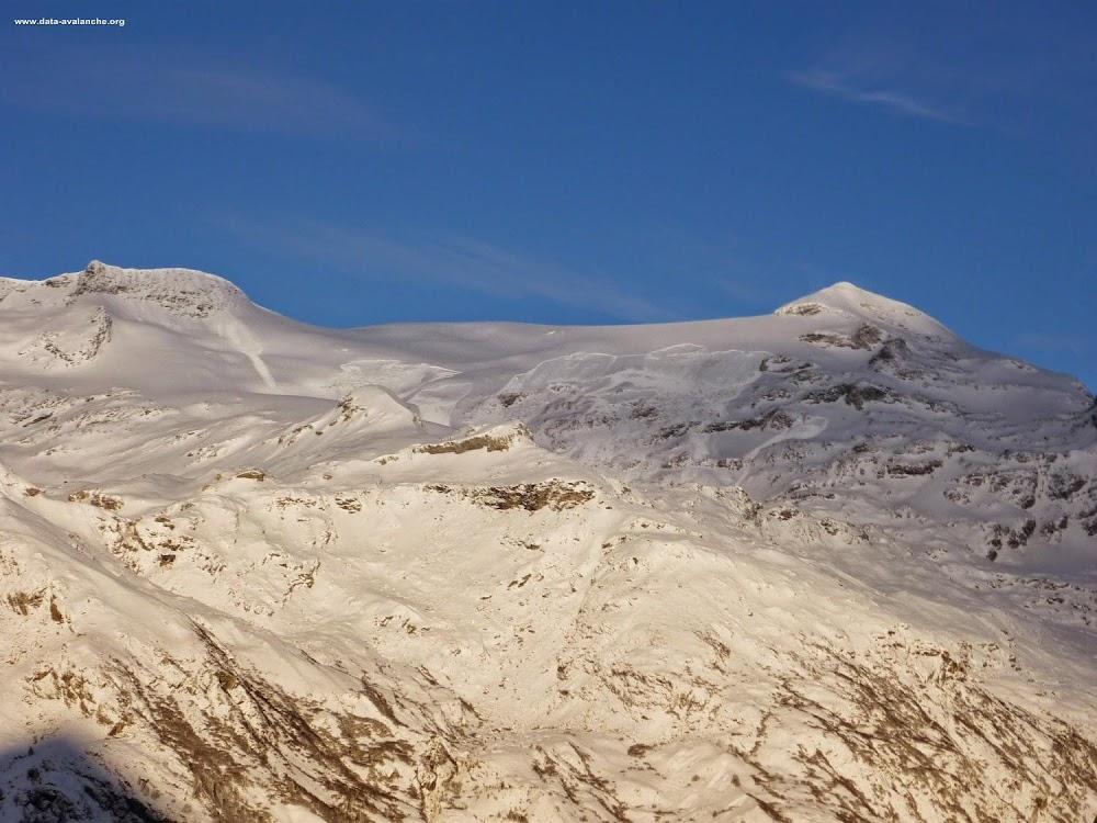 Avalanche Vanoise, secteur Dôme de l'Arpont, Glacier de l'Arpont - Photo 1