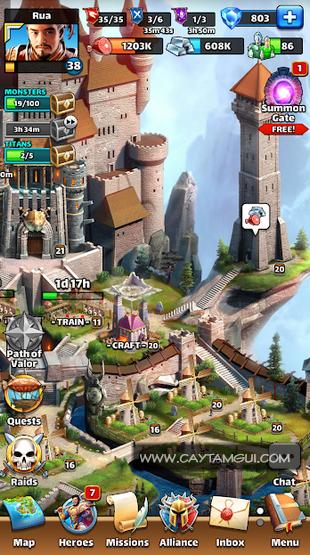 Hướng dẫn chơi game Empires & Puzzles - Game chiến thuật nhập vai giải đố RPG hay nhất trên điện thoại di động