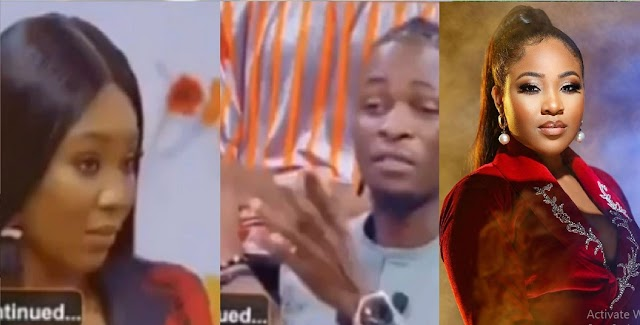 2021 BBNaija Reunion: I Watched All Your Videos Of You Saying Rubbish — Erica Spits On Laycon (Video)