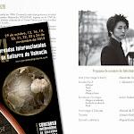 Concierto de Taiki Matsumoto (Japón- Francia) en el Salón de Actos del Instituto Francés, en Valencia.