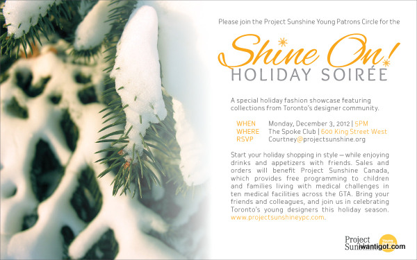 Shine On! Holiday Soiree - December 3, 2012