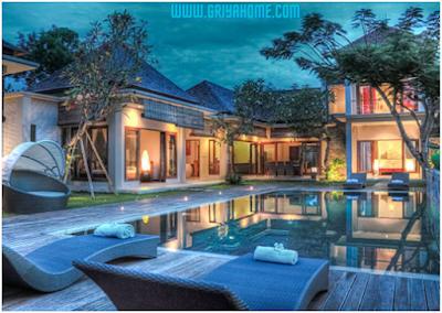 Rumah Minimalis Desain Bali Modern