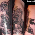 arm - Predator Tattoos Pictures