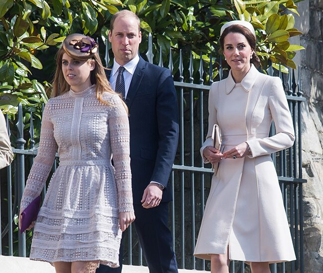 Prince William and Kate celebrate birth of Princess Beatrice's first Child