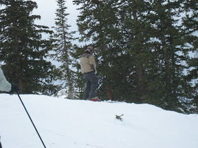 """this is what we skiiers call """"making yellow snow"""""""