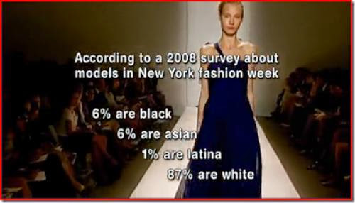 Expect Black Female Models To Look Like White Girls Dipped In Chocolate