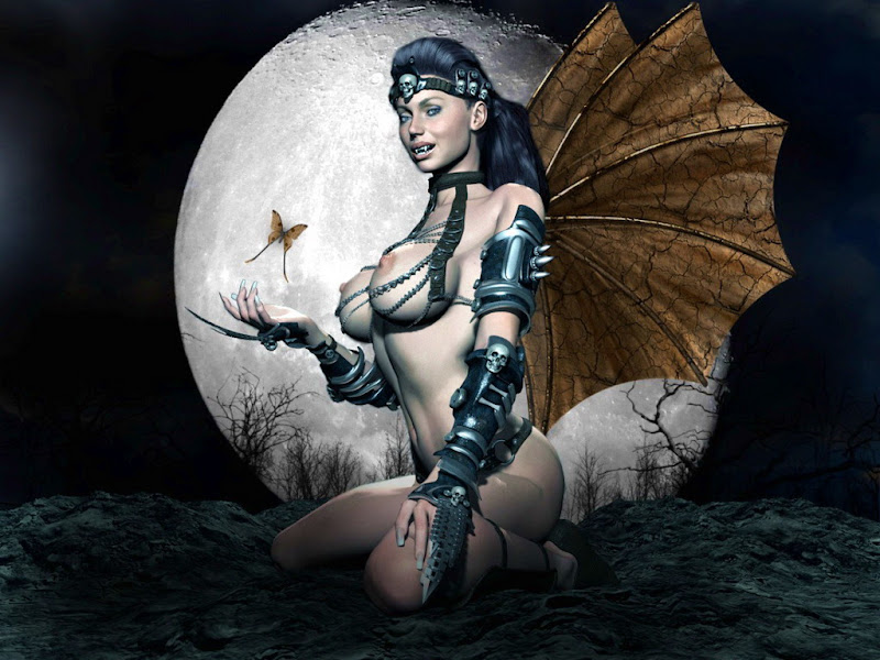 Vampire Lady And Butterfly, Vampire Girls 1
