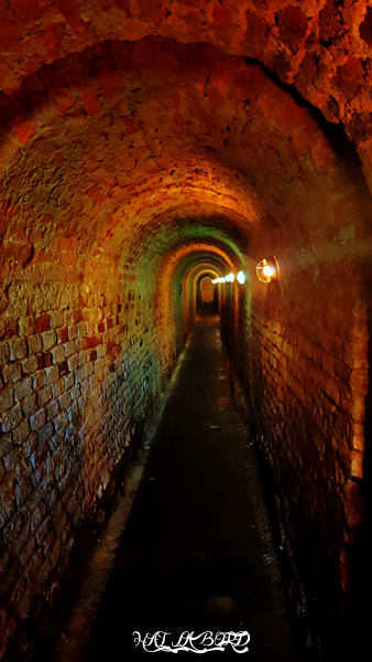 tunel cetatea alba iulia