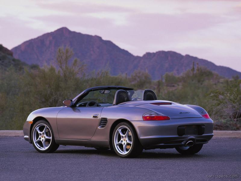 Porsche boxter specification