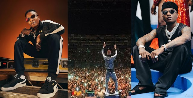 Unbelievable! Congratulations pour in as Wizkid sold out London's O2 Arena in 12 minutes