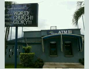 ATM Machines Spotted On The Wall Of Later Rain Assembly Church,Ogba(Photos)