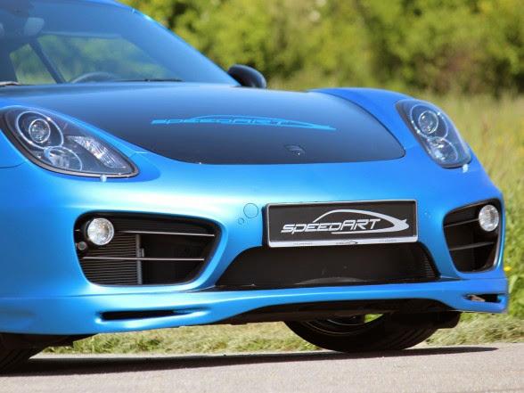 2013 speedART Porsche Cayman SP81-CR - Front Details